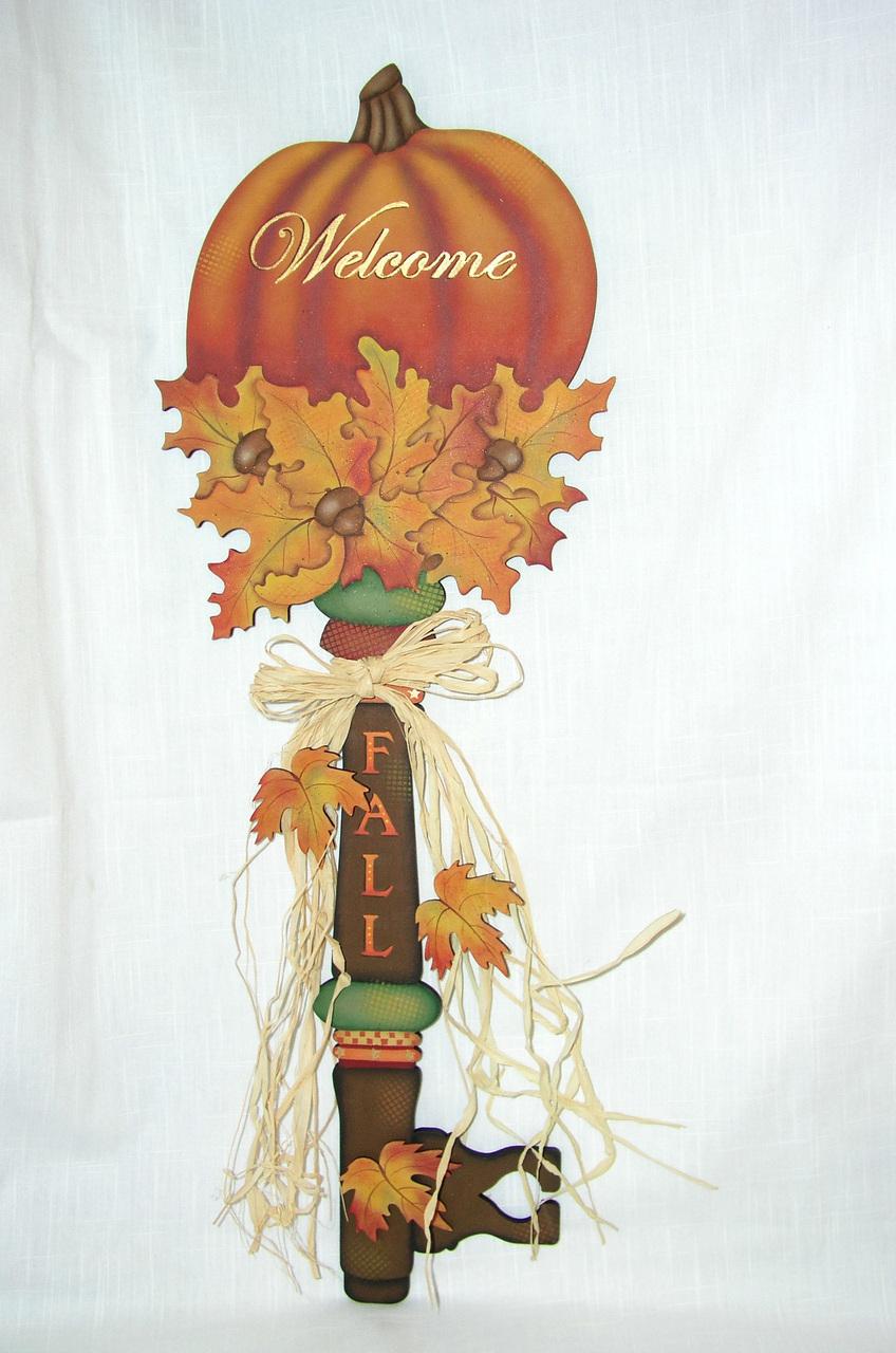Welcome Fall Key - E-Packet - Jeanne Bobish