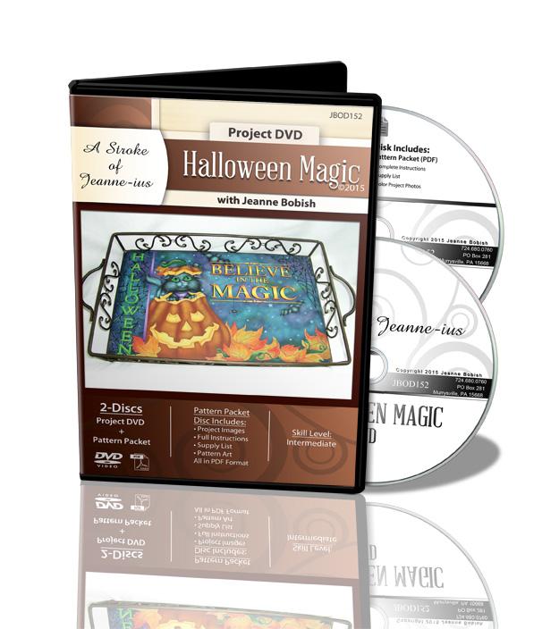 Halloween Magic Tray DVD - Jeanne Bobish