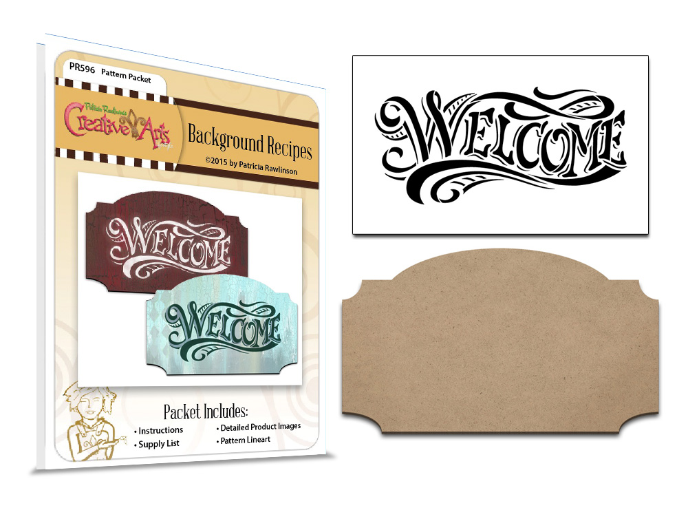 Welcome Sign Set