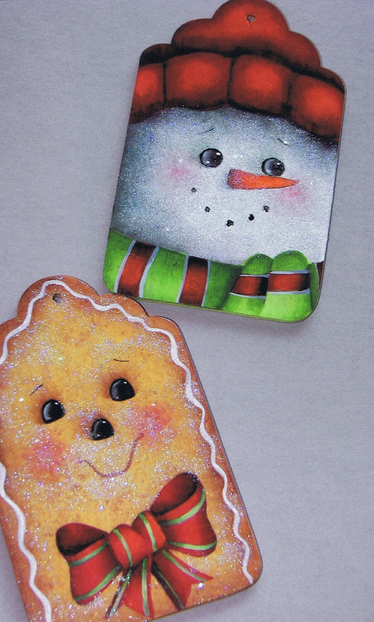 Snowman and Gingerbread Man - E-Packet - Ruth Veley