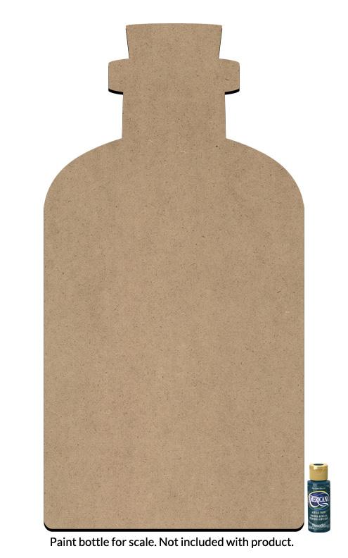 """Apothecary Bottle Surface - Jumbo - 29"""" x 15"""""""