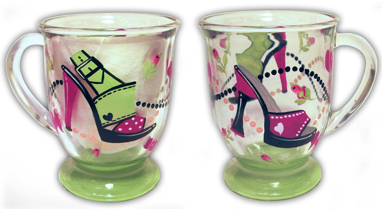 Shoe Coffee Mug - E-Packet - Jill Fitzhenry