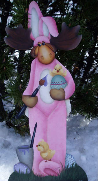Milton the Easter Moose - E-Packet - Wendy Fahey
