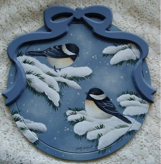 Winter Chickadees - E-Packet - Wendy Fahey