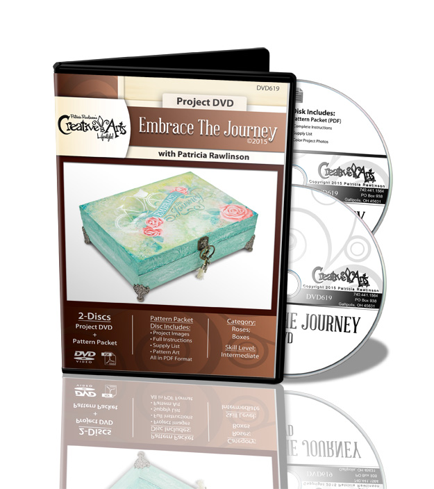 Embrace the Journey DVD and Pattern Packet - Patricia Rawlinson