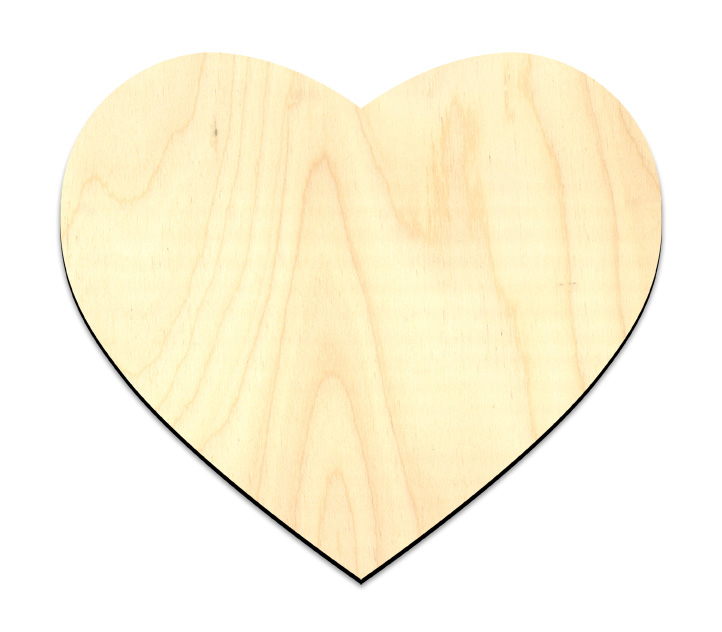 Sweet Heart Wood Surface