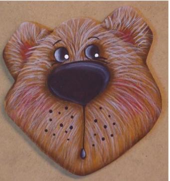 Bear Ornament or Pin Kit - E-Packet - Betty Bowers