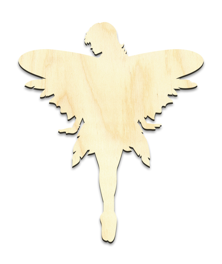 """Diva Fairy Figure Surface w/ Wings - Small - 4-5/8"""" x 5-1/2"""""""