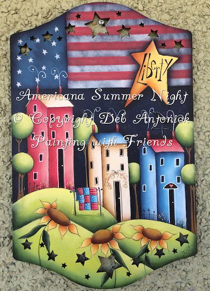 Americana Summer Night - E-Packet - Deb Antonick