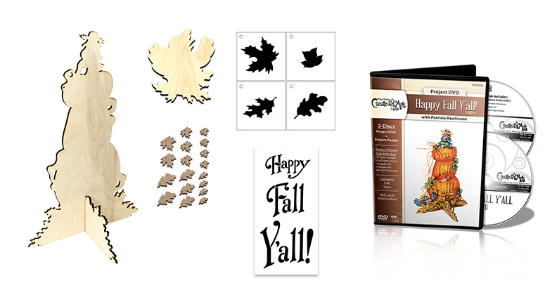 Happy Fall Y'all! Deluxe DVD Project Set