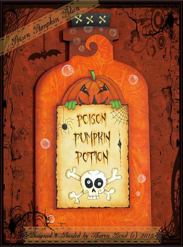Poison Pumpkin Potion - E-Packet - Sharon Bond