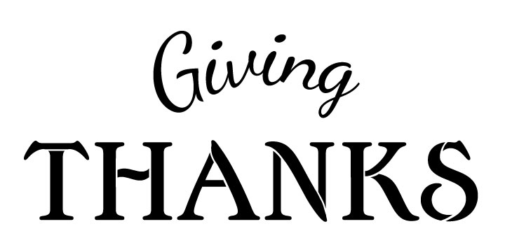 Giving Thanks Banner Deluxe Set