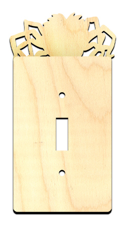 Halloween Spider Light Switch Cover