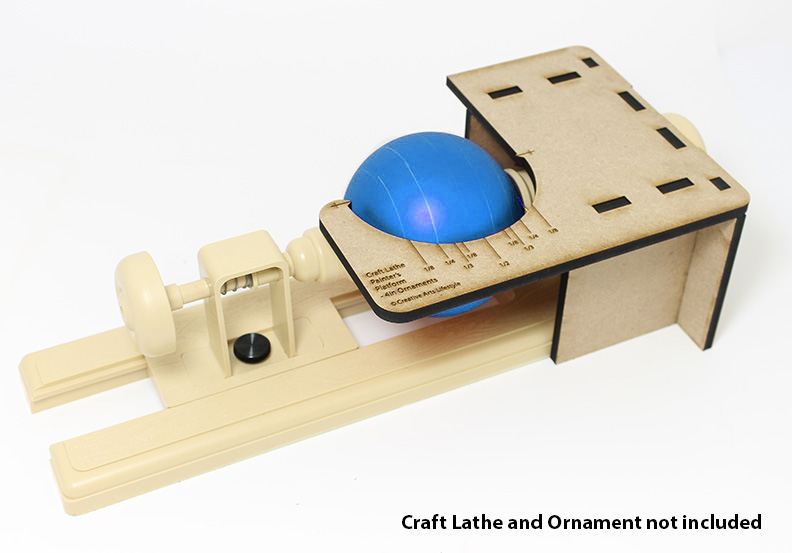 Craft Lathe Painter's Platform - for 4in Ornaments