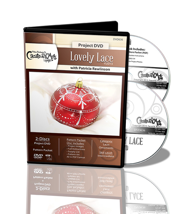 Lovely Lace DVD and Pattern Packet - Patricia Rawlinson