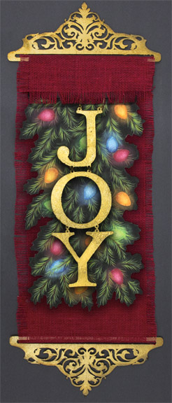 Christmas Joy DVD and Pattern Packet - Patricia Rawlinson