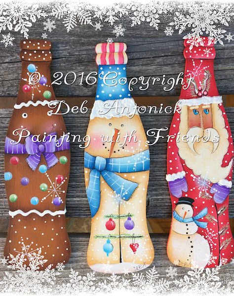 Christmas Cola's - E-Packet - Deb Antonick