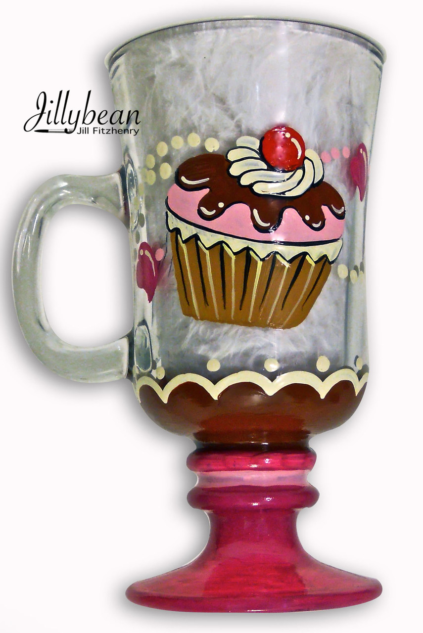 Cupcake Glass - E-Packet - Jill Fitzhenry