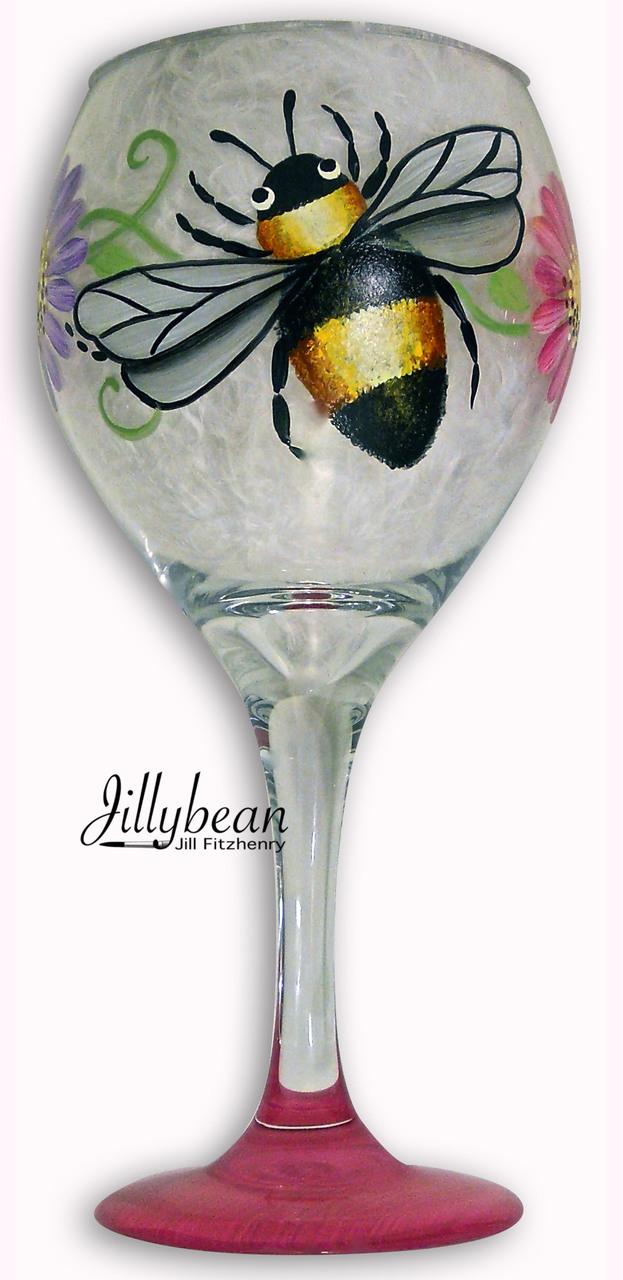 Bumble Bee Glass - E-Packet - Jill Fitzhenry
