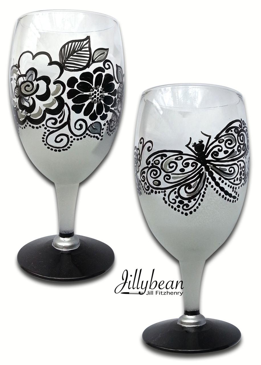 Black & White Glasses - E-Packet - Jill Fitzhenry