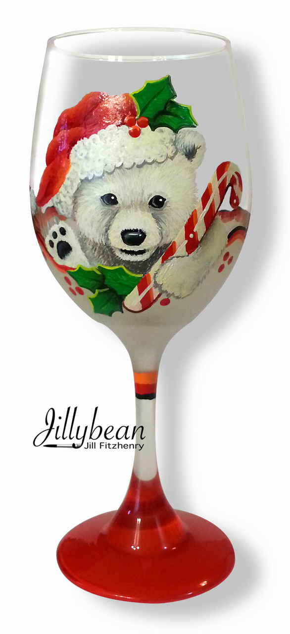 Polar Bear Glass - E-Packet - Jill Fitzhenry