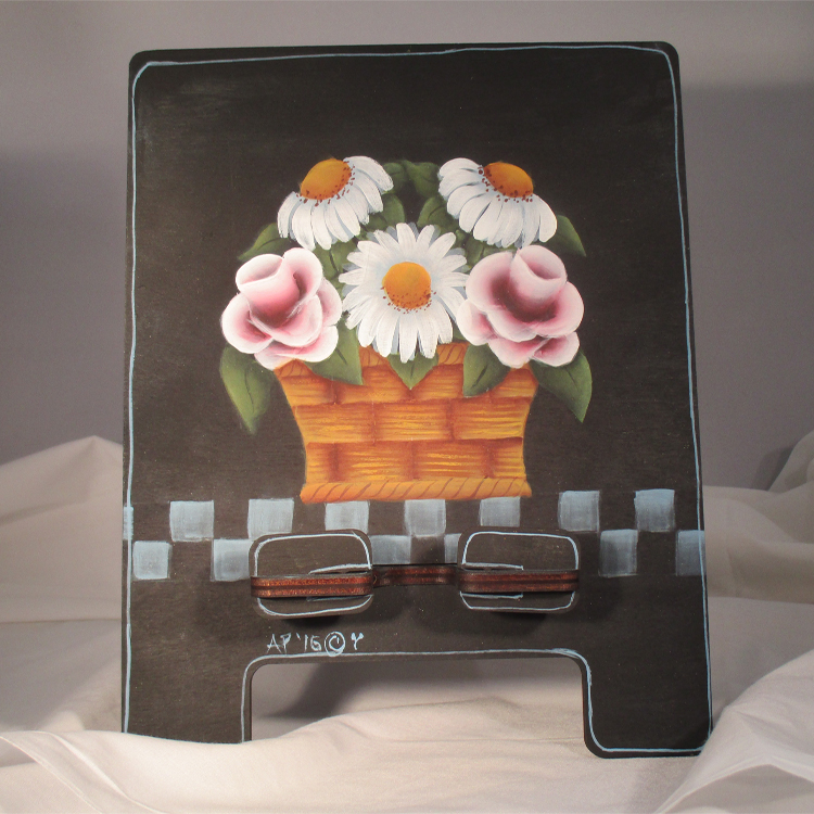 Basket of Flowers Tablet Stand - E-Packet - Ann Perz