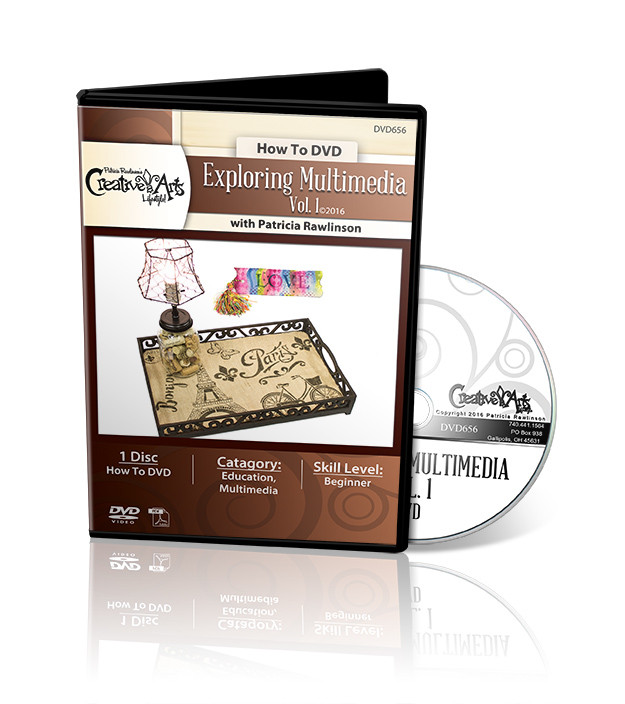 Exploring Multimedia - Vol. 1 - How-To DVD by Patricia Rawlinson