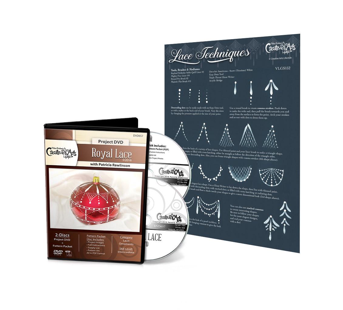 Royal Lace DVD & Lace Detail Techniques VLG Set