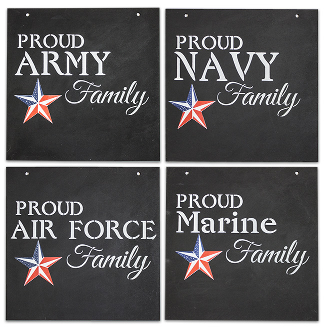 Proud Military Family Pattern Packet - Patricia Rawlinson