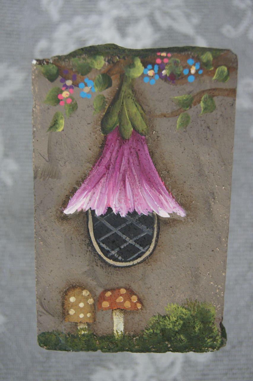 Fairy House Garden Rock - E-Packet - Wendy Fahey
