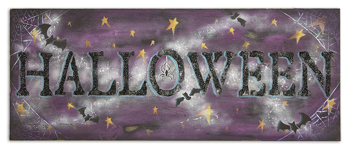 Easy Halloween Sign - E-Packet - Patricia Rawlinson