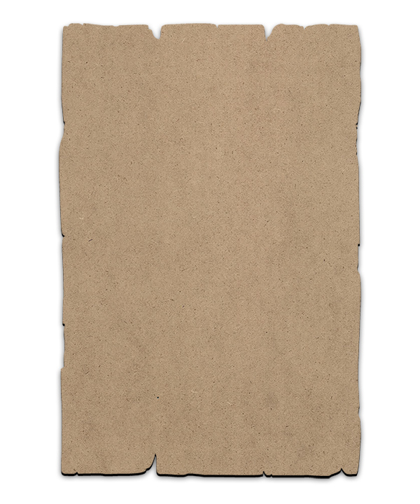 "Rustic Rectangle Plaque - Short - Small - 8"" x 12"""