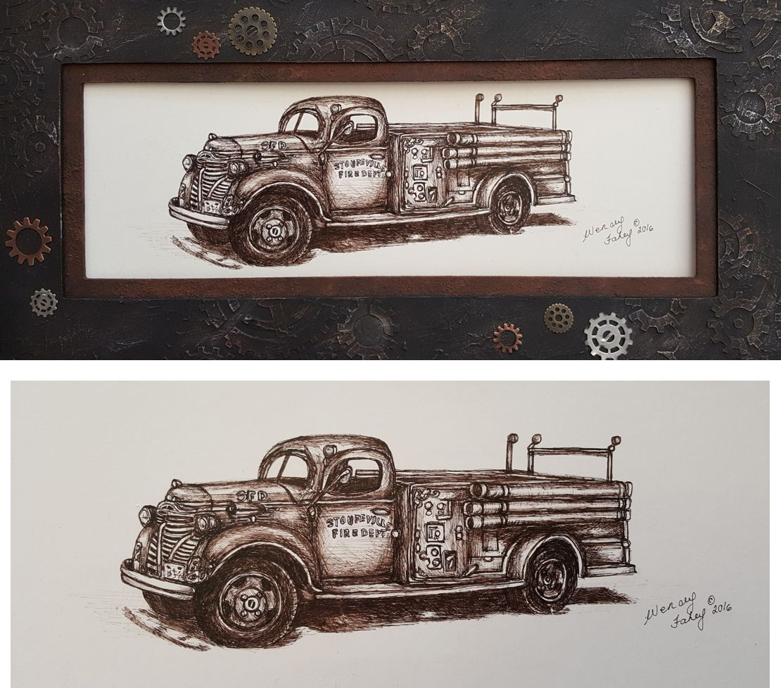 Rusty Relic Pen & Ink - E-Packet - Wendy Fahey