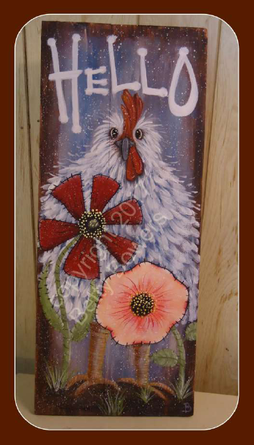 HELLO Chicken - E-Packet - Betty Bowers