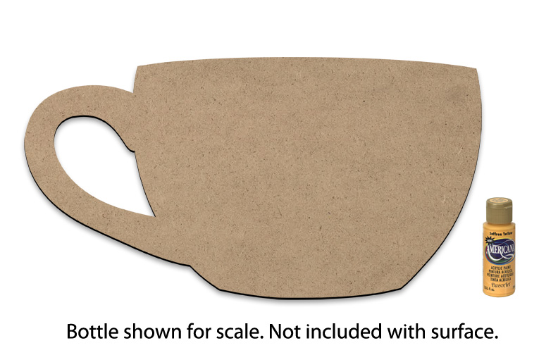 """Coffee Cup Surface - X-Large - 18"""" x 9-1/2"""""""
