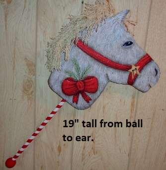 Holiday Stick Horse - E-Packet - Betty Bowers
