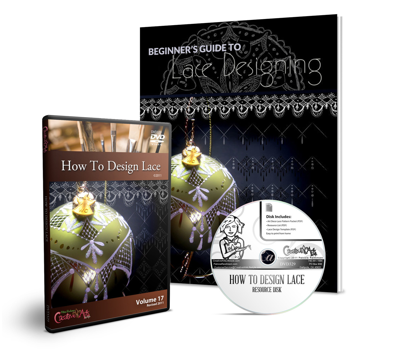 How to Design Lace DVD + Beginner's Guide To Lace on Disk