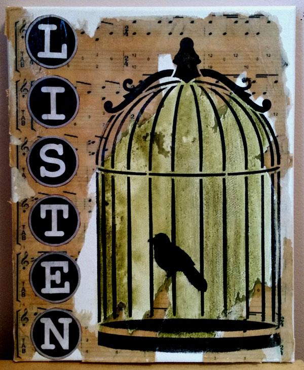 Listen - E-Packet - Cheryl Nuccio