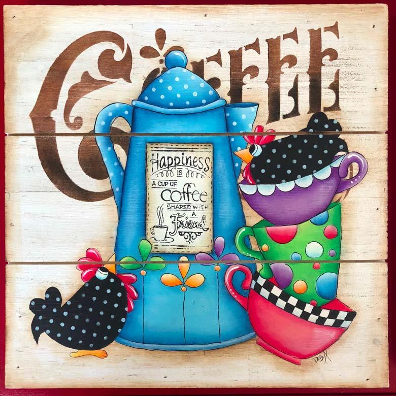Buk Buk's and Coffee - E-Packet - Deb Antonick