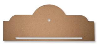 Wooden Mini Banner Topper (Clock Ready)