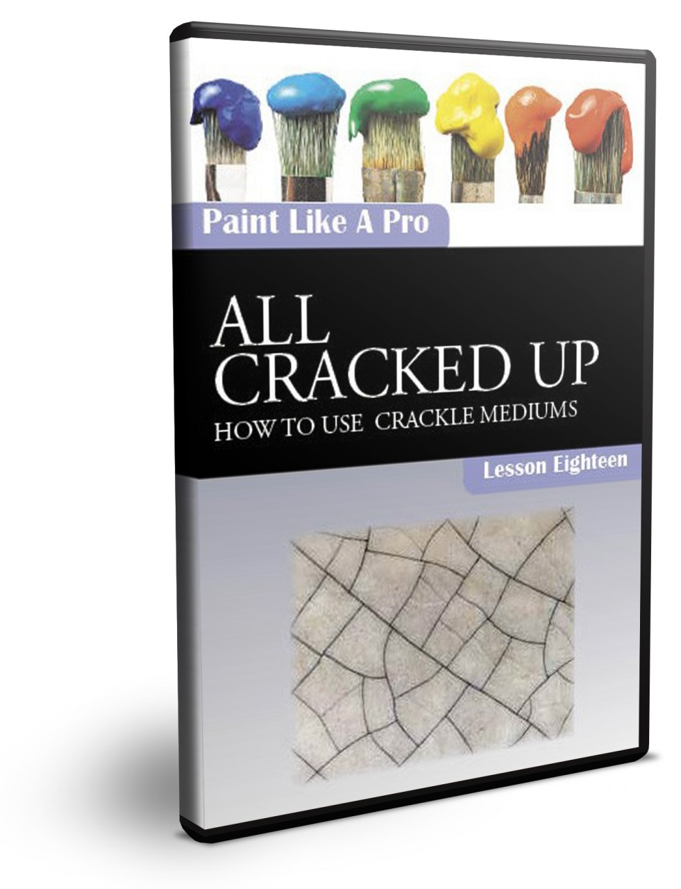 How To Use Crackle Medium: Painting Techniques DVD Series Volume 14