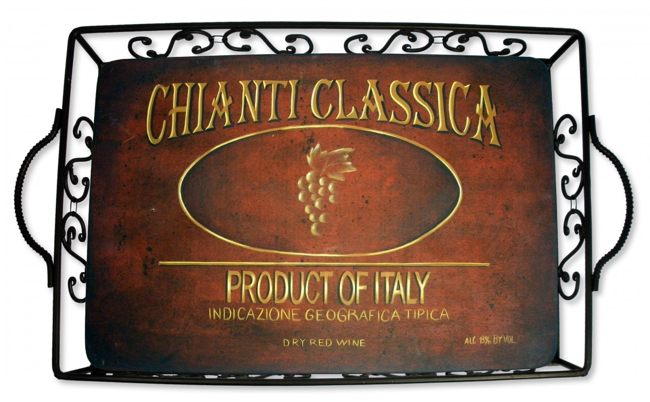 Chianti Wine Label Anyway Tray DVD & Pattern Packet - Patricia Rawlinson