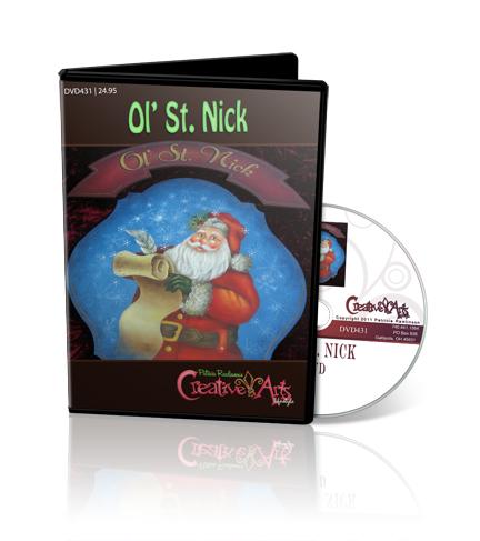 Ol' St. Nick DVD & Pattern Packet - Patricia Rawlinson