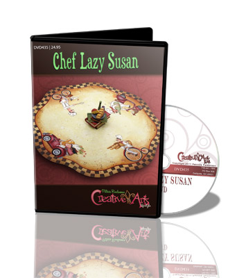 Chef Lazy Susan DVD & Pattern Packet - Patricia Rawlinson