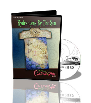 Hydrangeas By the Sea DVD & Pattern Packet - Patricia Rawlinson