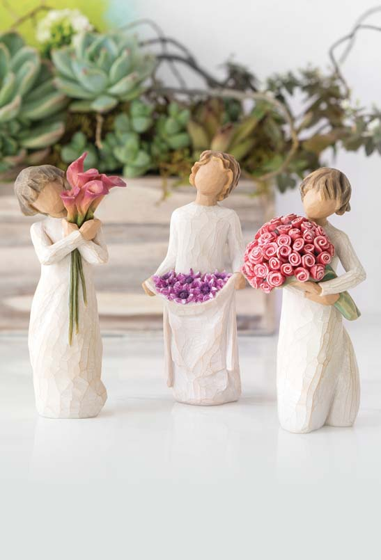 Willow Tree Flower Figurine