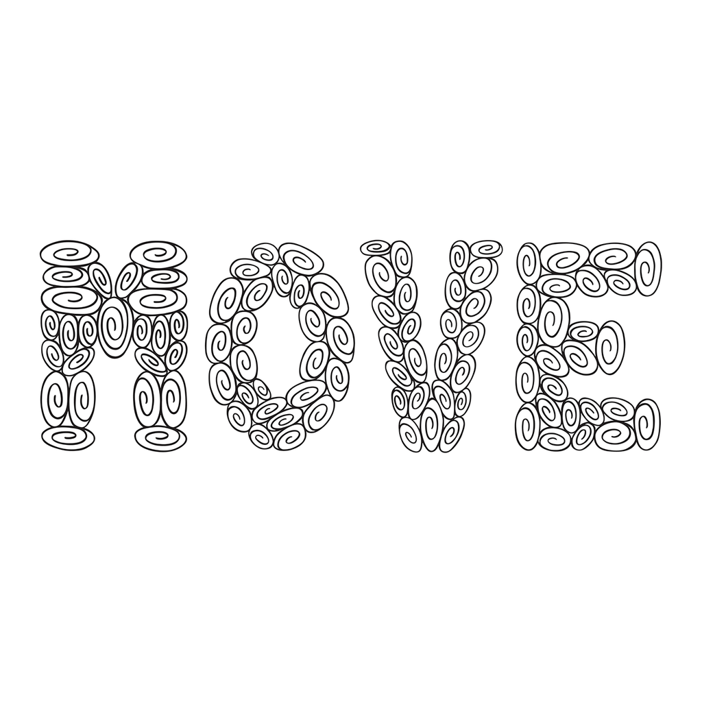 100 Swirl MOVE : Words Collection : Download