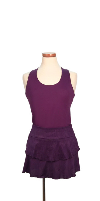 PT0113 Aubrey Skirt in Amethyst