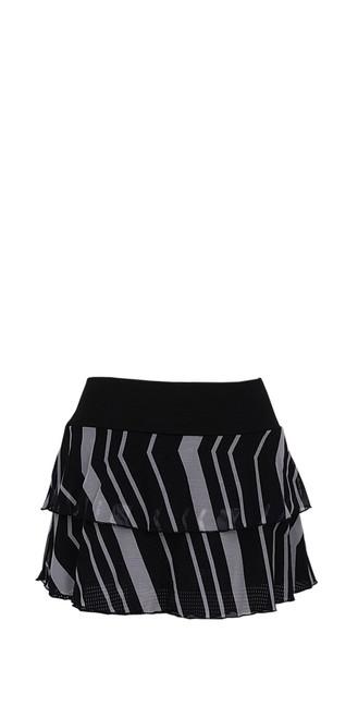 Marina Skirt in Fine Chevron Mesh