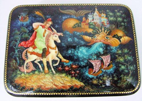 """""""The Humpback Pony"""" by Kog of Palekh"""